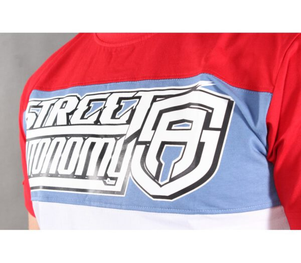 T-SHIRT STREET AUTONOMY RACEING RED/WHITE