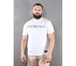 T-SHIRT PITBULL BEDSCRIPT WHITE