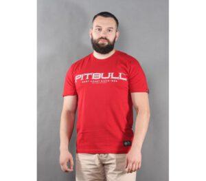 T-SHIRT PITBULL BEDSCRIPT RED
