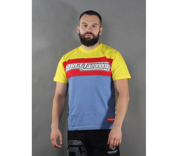 T-SHIRT STREET AUTONOMY LEGO BLUE/RED/YELLOW