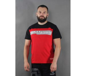 T-SHIRT STREET AUTONOMY LEGO RED/BLACK