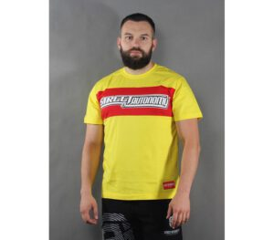 T-SHIRT STREET AUTONOMY LEGO YELLOW/RED