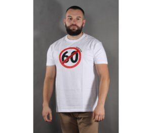 T-SHIRT STOP KONFIDENTOM STOP 60 WHITE
