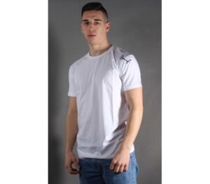 T-SHIRT STOPROCENT TMS BASE SMALL TAG WHITE