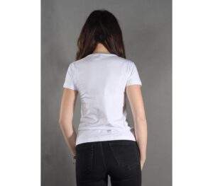 T-SHIRT DAMSKA STOPROCENT TDS TOUCH WHITE