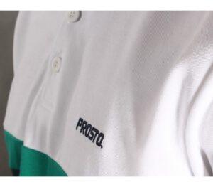 T-SHIRT POLO PROSTO LIZARD WHITE